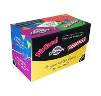 Téléchargements de livres gratuits pour ipad La boîte à quiz  - Trivial Pursuit ; Pie Face ; Cranium ; Monopoly RTF