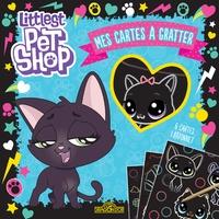 Hasbro - Mes cartes à gratter Littlest Pet Shop Jade - Avec 1 bâtonnet.