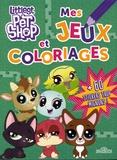 Hasbro - Mes jeux et coloriages Littlest PetShop.