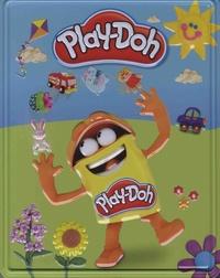 Hasbro - Play-Doh, mes premières créations - Avec 3 pots de pâte à modeler Play-Doh.