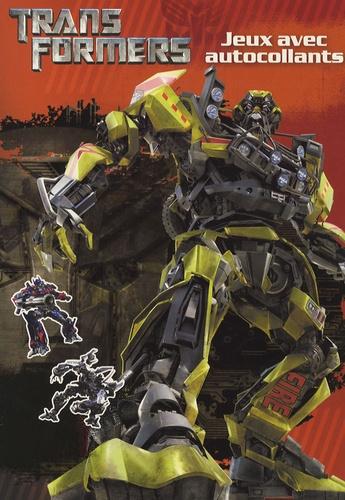 Hasbro - Transformers  : Jeux avec autocollants.