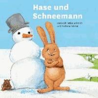 Hase und Schneemann.