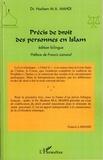 Hashem Mohamad Ali Mahdi - Précis de droit des personnes en Islam.