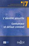 Hassan Abdelhamid - L'identité sexuelle - Contumace et défaut criminel.
