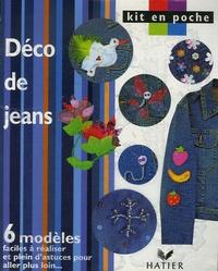 Hatier - Déco de jeans.