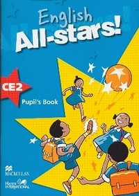 Hatier - English All-stars! CE2 - Pupil's Book.