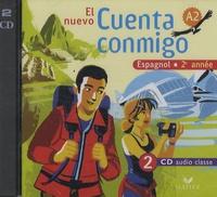 Espagnol 2e année El nuevo Cuenta conmigo - 2 CD audio classe.pdf
