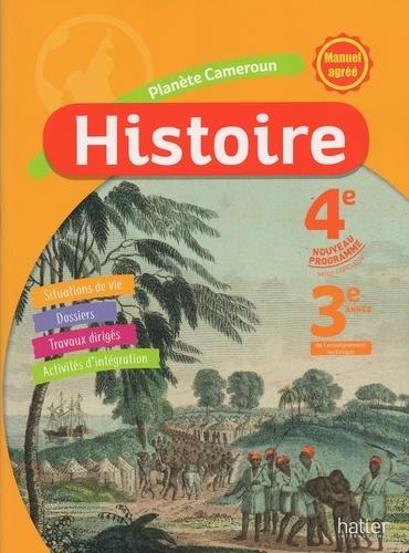 Histoire 4e Cameroun Eleve Grand Format