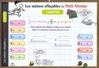 Hatier - L'addition - Les mémos effaçables du Petit Nicolas, sous-main.
