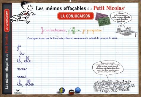 Hatier - La conjugaison - Les mémos effaçables du Petit Nicolas, sous-main.