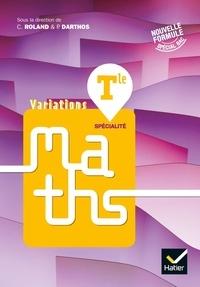 Hatier - Maths Tle spécialité Variations.