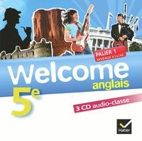 Welcome Anglais 5e -  Hatier |
