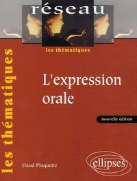 Haud Plaquette - L'expression orale.