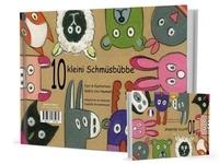 Haumant valerie Cox et Isabelle Grussenmeyer - 10 kleini Schmüsbùbbe / 10 petits doudous (LIVRE Alsacien).