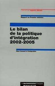Goodtastepolice.fr Le bilan de la politique d'intégration 2002-2005 - Rapport au Premier ministre Image
