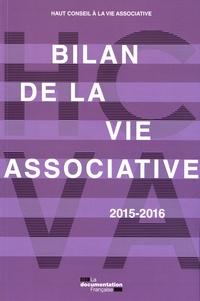 Bilan de la vie associative 2015-2016 -  Haut Conseil vie associative |