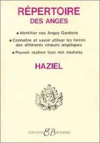 Haziel - Répertoire des anges....