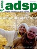 HCSP - Politique de l'âge et santé.