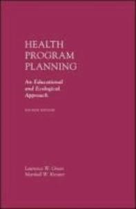 Health Program Planning.