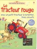 Heather Amery et Gillian Doherty - Le tracteur rouge - Avec un petit tracteur à remonter, trois circuits.
