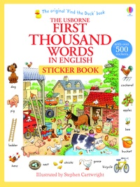 The Usborne First Thousand Words in English - Sticker Book.pdf