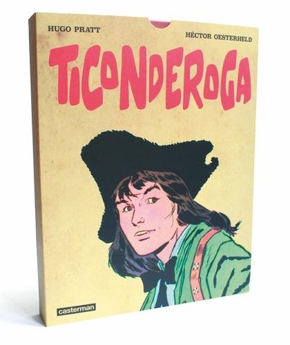 Hector Oesterheld et Hugo Pratt - Ticonderoga - Coffret en 2 volumes : Tomes 1 et 2.