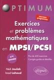 Hedi Joulak et Imad Lahoud - Exercices et problèmes mathématiques en MPSI/PCSI 1re année.