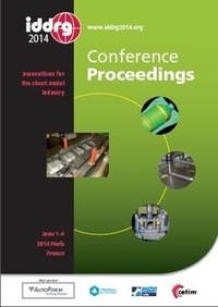 Hedi Sfar et André Maillard - IDDRG 2014, conference proceedings - Innovations for the sheet metal industry, June 1-4 2014, Paris, France. (With CD-ROM).