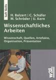 Heide Balzert - Wissenschaftliches Arbeiten.
