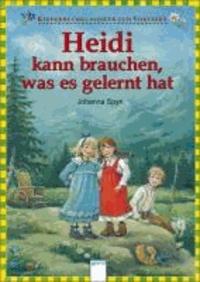 Heidi kann brauchen, was es gelernt hat.