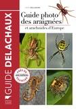 Heiko Bellmann - Guide photo des araignées et autres arachnides d'Europe.