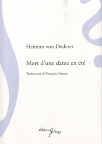 Heimito von Doderer - Mort d'une dame en été.