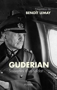 Livre électronique download pdf Souvenirs d'un soldat par Heinz Guderian FB2 en francais