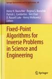 Heinz H. Bauschke et Regina Burachik - Fixed-Point Algorithms for Inverse Problems in Science and Engineering.