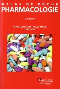 Heinz Lüllmann et Klaus Mohr - Atlas de poche de pharmacologie.