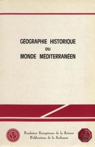 Hele Ahrweiller - Geographie historique du monde mediterraneen.