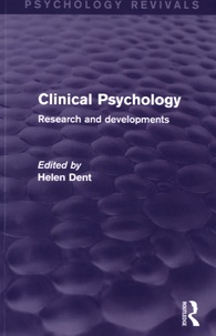 Helen Dent - Clinical Psychology - Research and Developments.