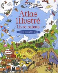 Atlas illustré- Livre rabats - Helen Lee  