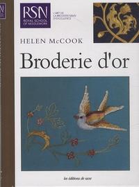 Hélen Mccook - Broderie d'or.