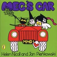 Helen Nicoll et Jan Pienkowski - The Meg and Mog Books  : Meg's Car.