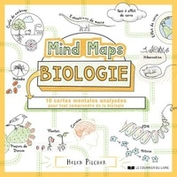 Helen Pilcher - Mind Maps Biologie - 10 cartes mentales analysées pour tout comprendre de la biologie.