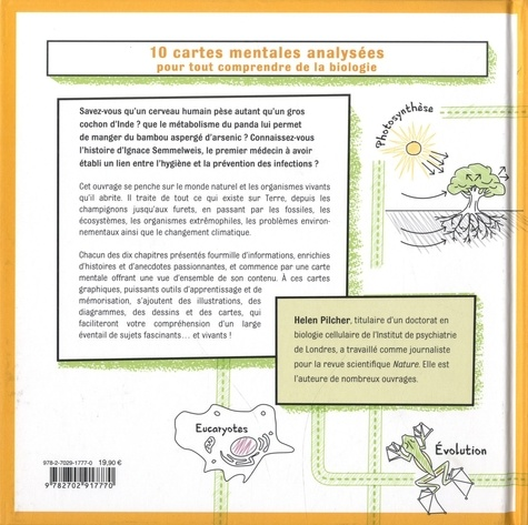 Mind Maps Biologie. 10 cartes mentales analysées pour tout comprendre de la biologie