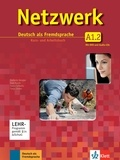 Helen Schmitz et Stefanie Dengler - Netzwerk A1 in Teilbänden - Kurs- und Arbeitsbuch, Teil 2 mit 2 Audio-CDs und DVD - Deutsch als Fremdsprache.