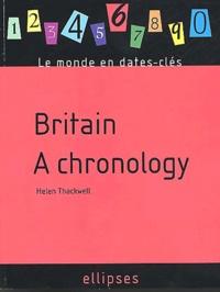 Deedr.fr Britain. A chronology Image