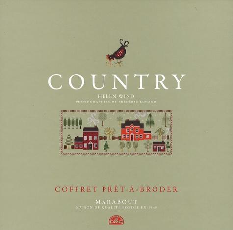 Helen Wind - Country - Coffret prêt-à-broder.
