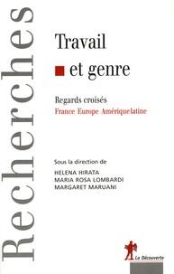 Helena Hirita et Maria Rosa Lombardi - Travail et genre - Regards croisés France-Europe-Amérique latine.