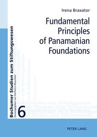 Helena Manzione-braxator - Fundamental Principles of Panamanian Foundations.
