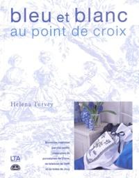 Helena Turvey - Bleu et blanc au point de croix.