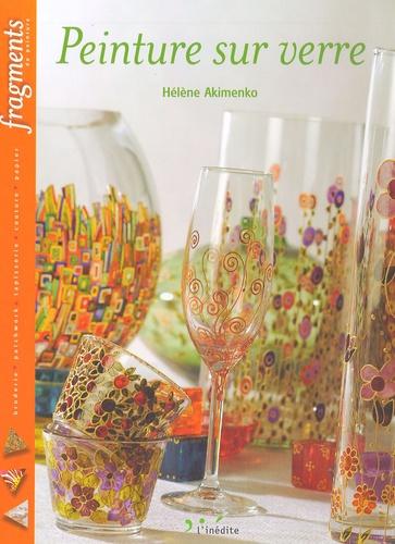 Hélène Akimenko - Peinture sur verre.
