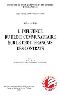 Linfluence du droit communautaire sur le droit français des contrats.pdf